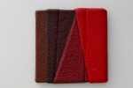 Tudor panel leather pin